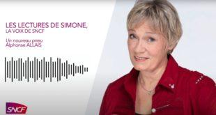 Les lectures de Simone la voix de la SNCF Capture d'écran
