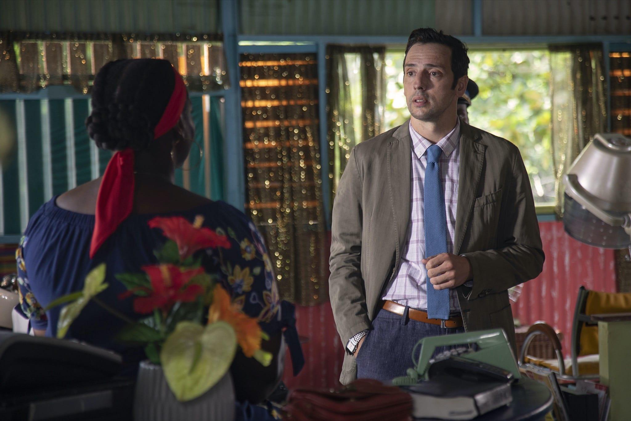 Meurtres au paradis saison 9 épisode Le salon de coiffure