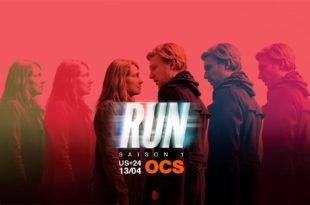 Run saison 1 affiche série télé