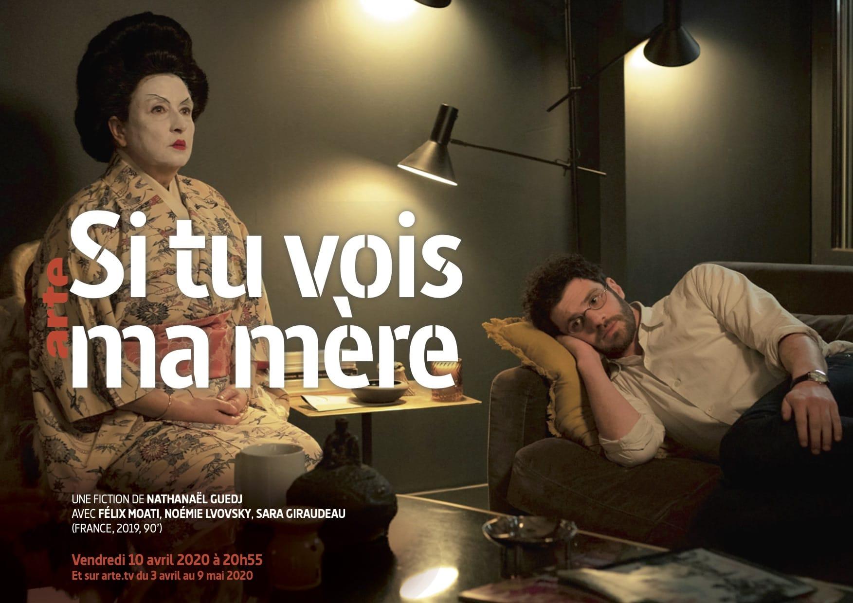 Si tu vois ma mère de Nathanaël Guedj affiche téléfilm