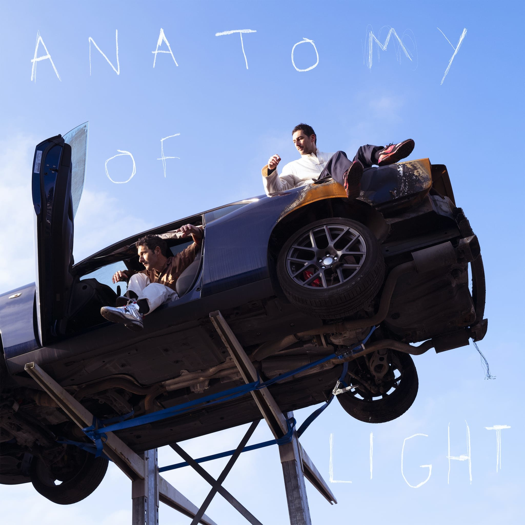 AaRON cover album anatomy of light music