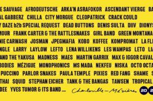 Cabaret 2020 affiche festival musique