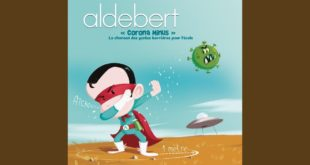 capture d'écran Aldebert Corona Minus musique enfants coronavirus gestes barrières