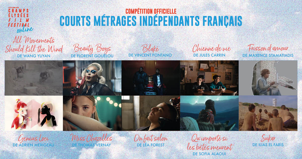 Champs-Elysées Film Festival 2020 programmation courts métrages indépendants français