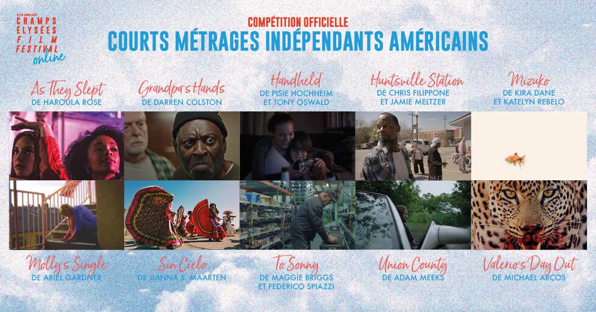 Champs-Elysées Film Festival 2020 programmation courts métrages internationaux