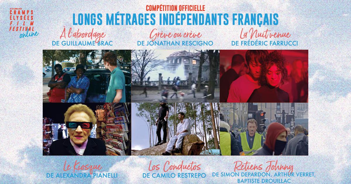 Champs-Elysées Film Festival 2020 programmation longs métrages indépendants américains