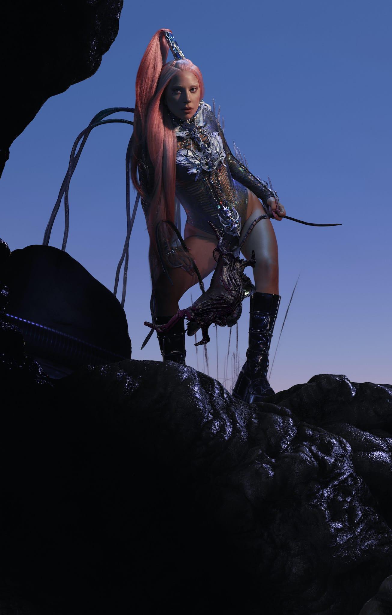 Lady Gaga Chromatica image musique