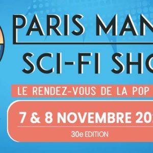 Paris Manga & Sci-Fi Show 30 affiche pop culture
