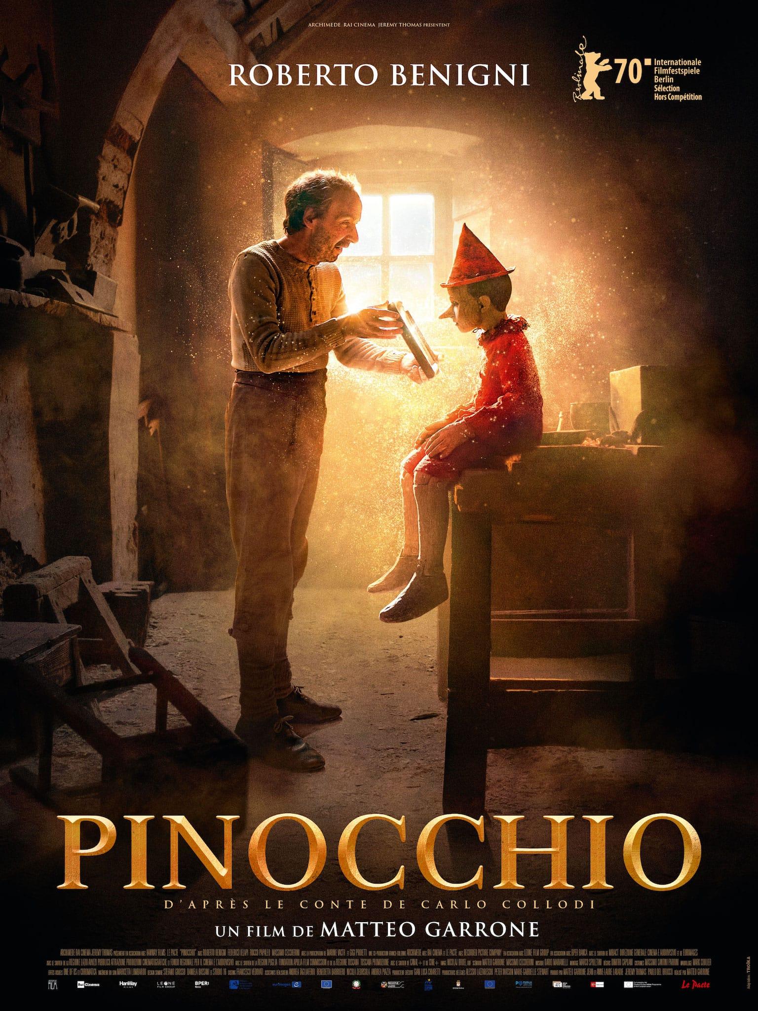 PINOCCHIO de Matteo Garrone film cinéma
