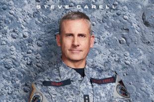 Space Force affiche série Netflix