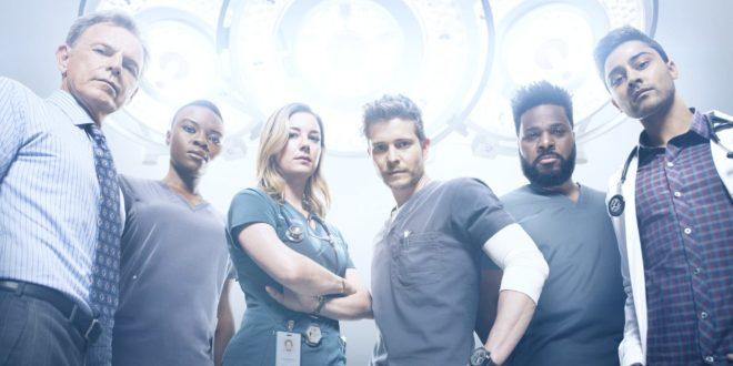 The Resident saison 2 key art série télé