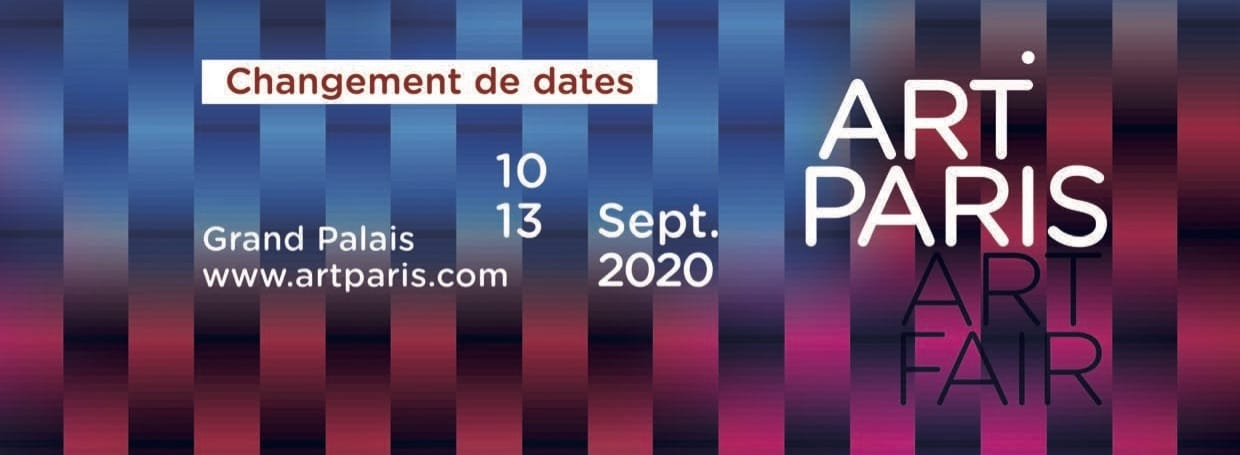 Art Paris 2020 affiche changement de date
