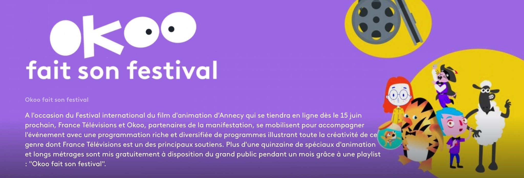 Capture d'écran Okoo fait son festival animation