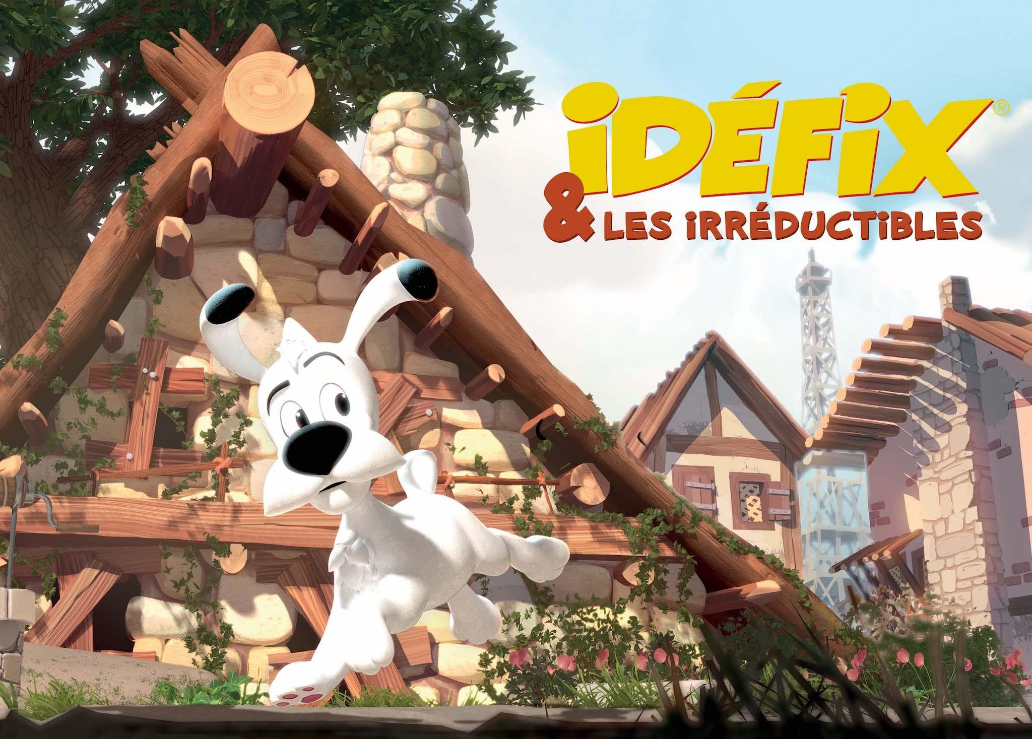 Idéfix et les irréductibles keyart animation
