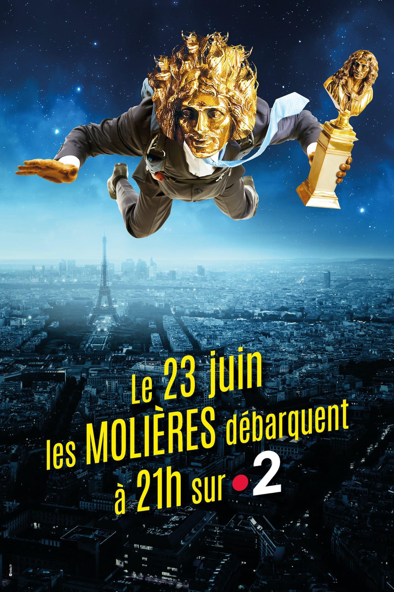Les Molières 2020 affiche France 2