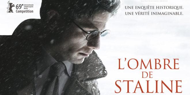 L'OMBRE DE STALINE affiche film cinéma 2020