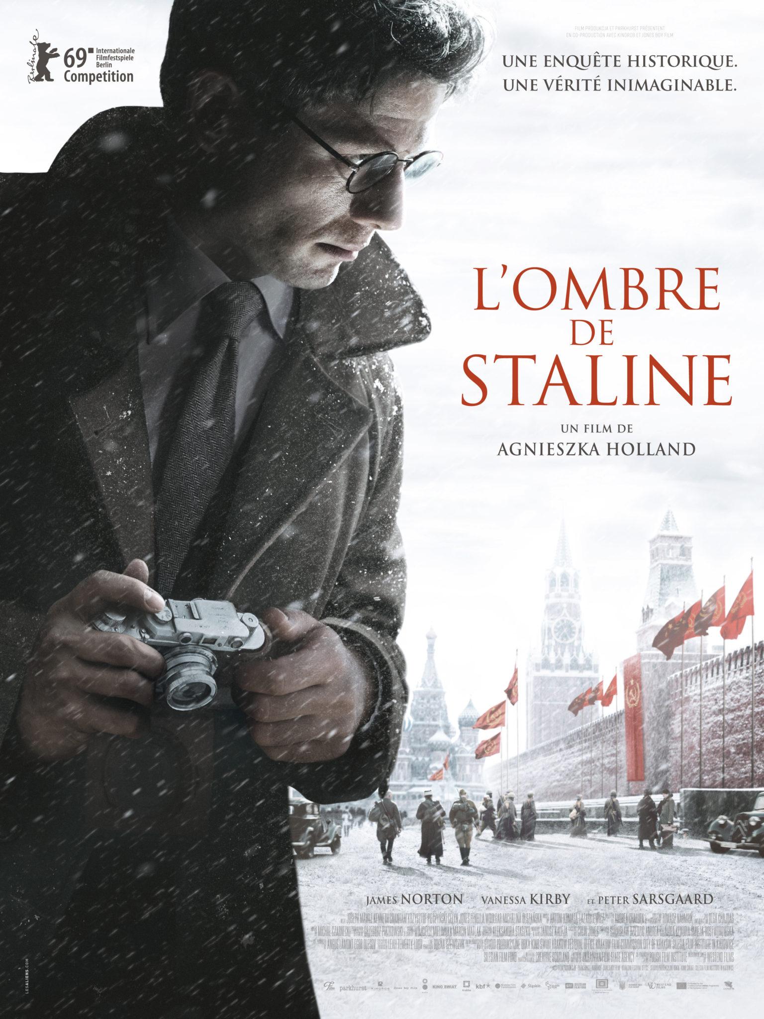 L'OMBRE DE STALINE affiche film 2020
