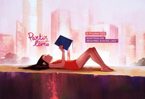 #PartirEnLivre - l'édition digitale de Partir en Livre 2020 affiche