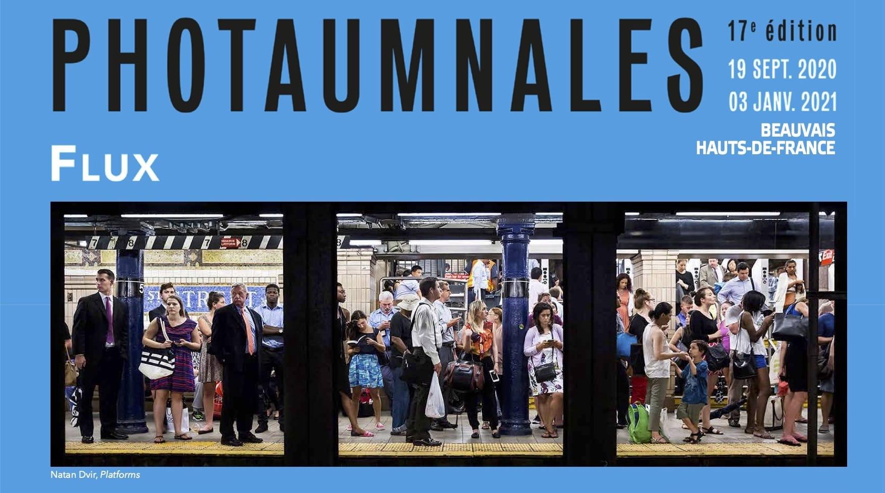 Photaumnales 2020 affiche festival