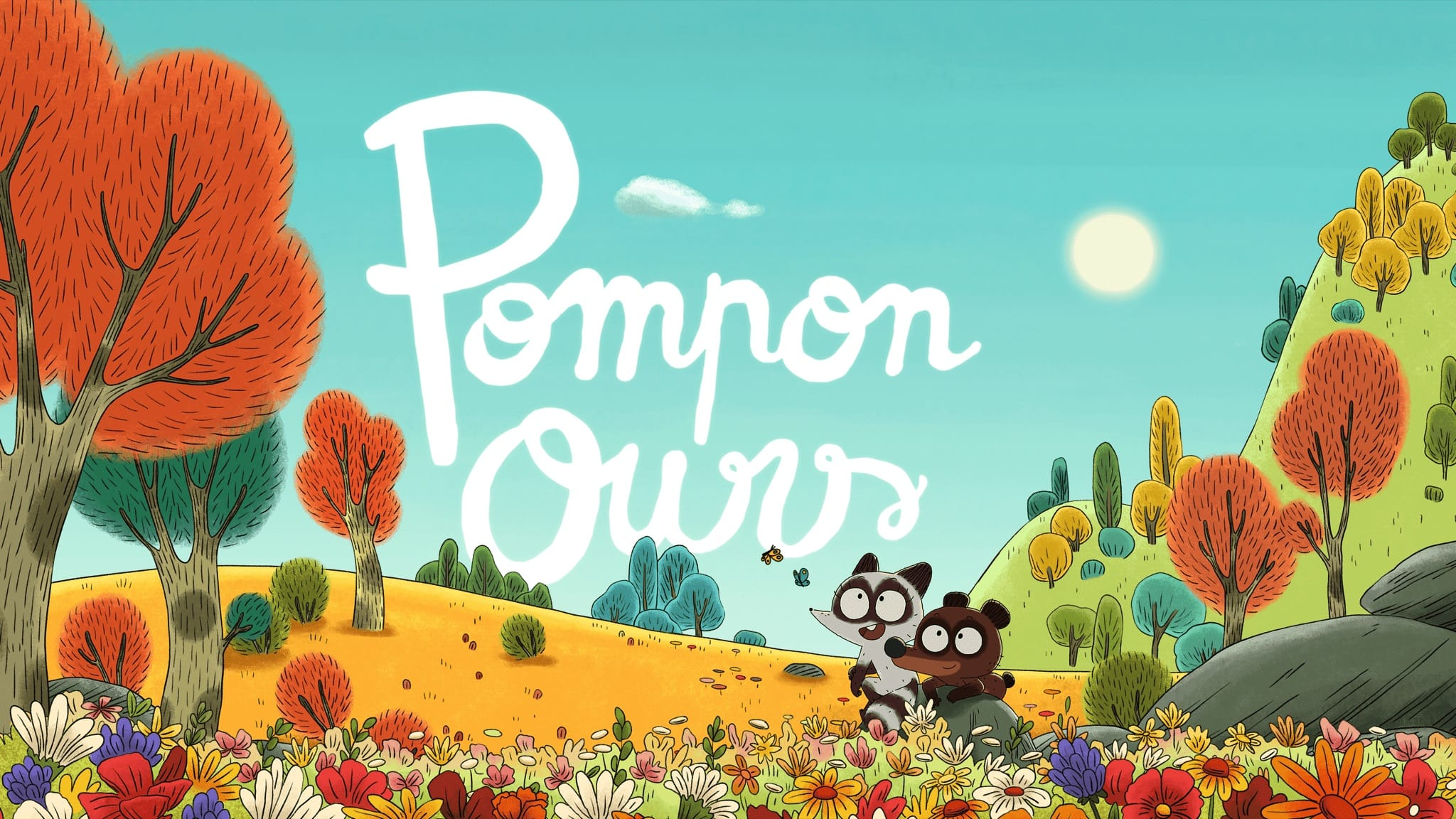 POMPON OURS image animation