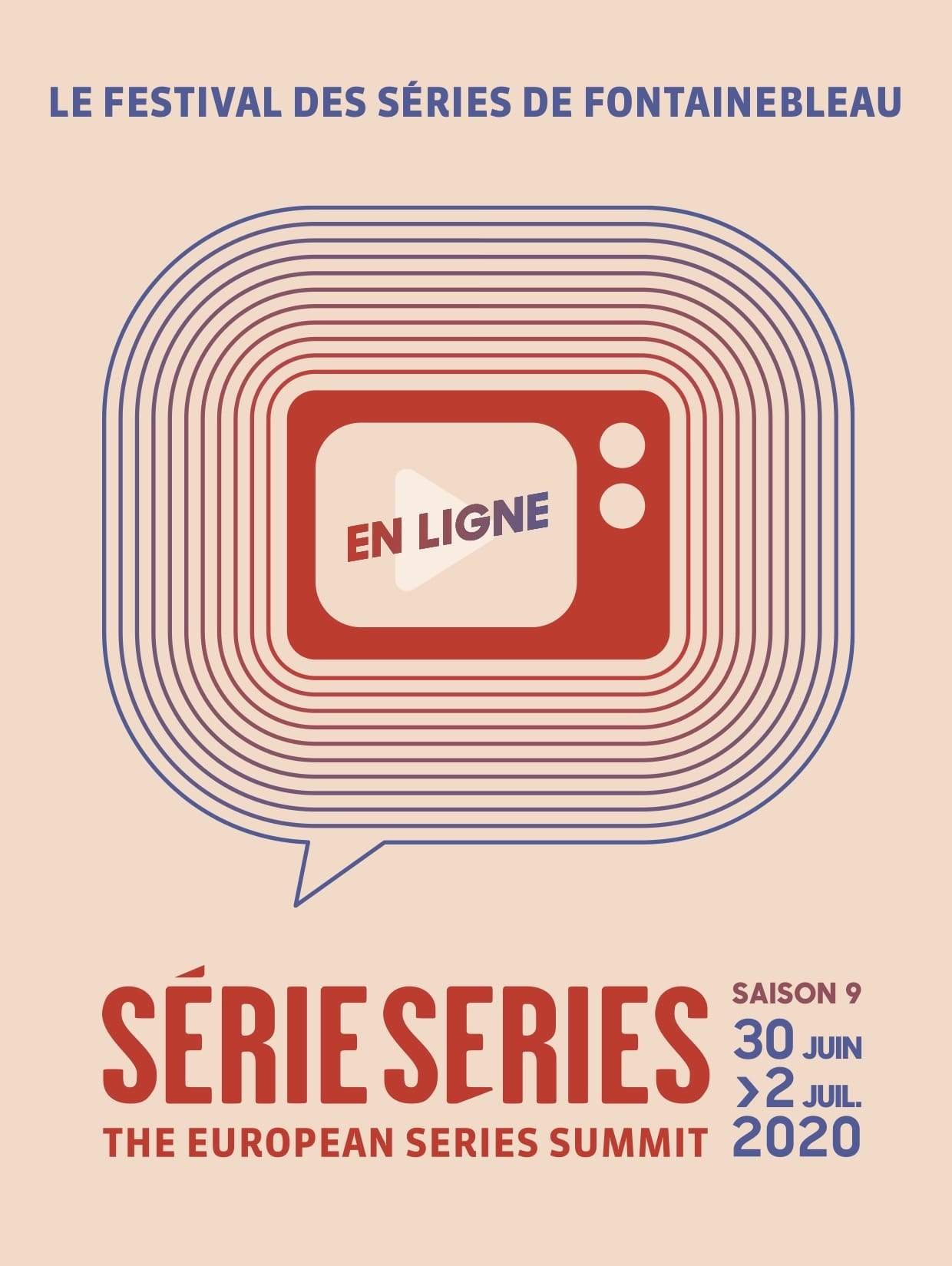 Série Series 2020 affiche festival