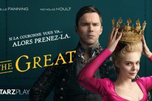 The Great saison 1 affiche série télé