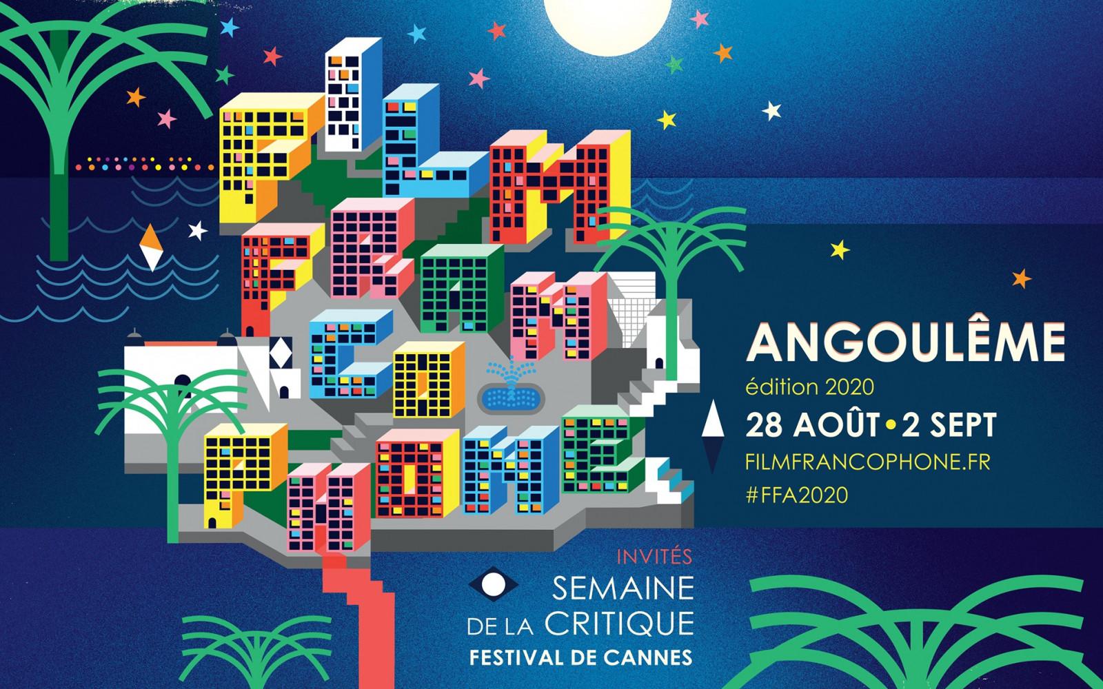 Affiche Festival du Film Francophone d'Angoulême 2020