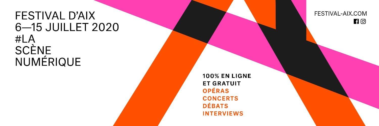 Festival d'Aix-en-Provence 2020 affiche