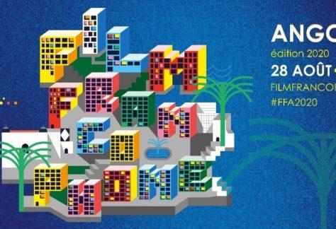Festival du Film Francophone d'Angoulême 2020 affiche verticale cinéma
