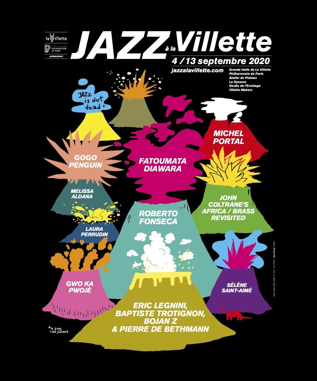 Jazz à la Villette 2020 affiche festival musique
