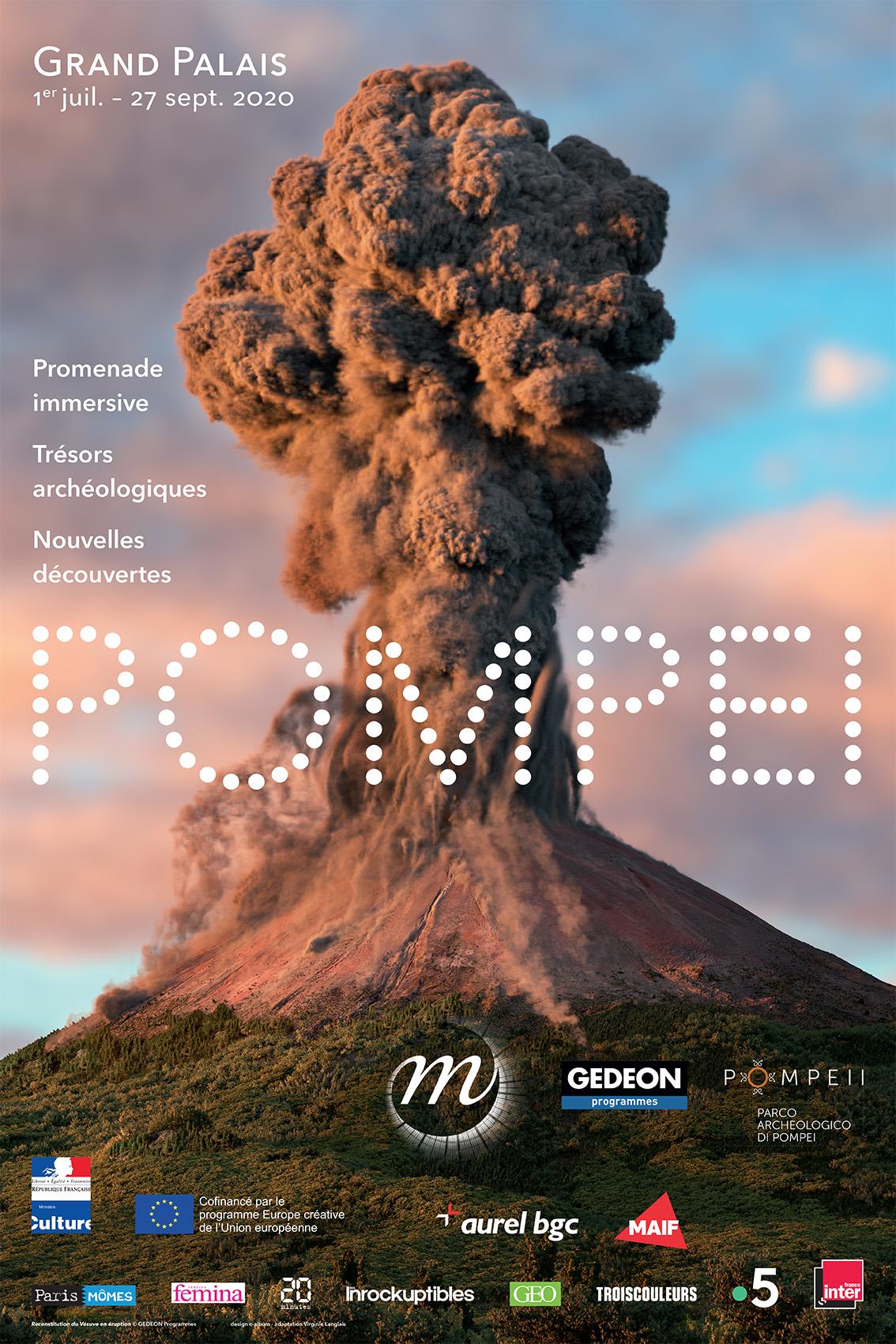 """Exposition / """"Pompéi"""" au Grand Palais jusqu'au 27 septembre 2020 2 image"""