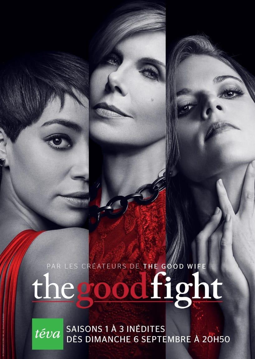 The Good Fight saisons 1 à 3 affiche Téva