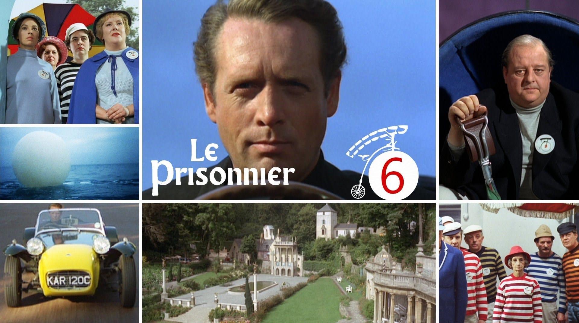 Le Prisonnier de Patrick McGoohan visuel M6