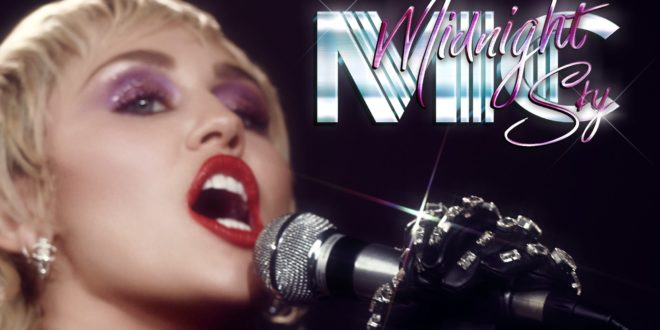 Miley Cyrus - Artwork Midnight Sky musique