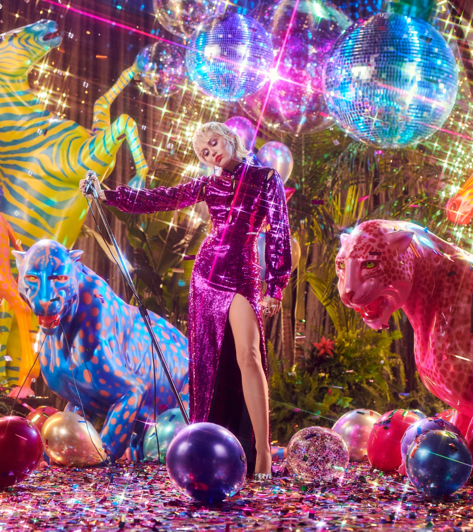 Miley Cyrus - Midnight Sky image musique