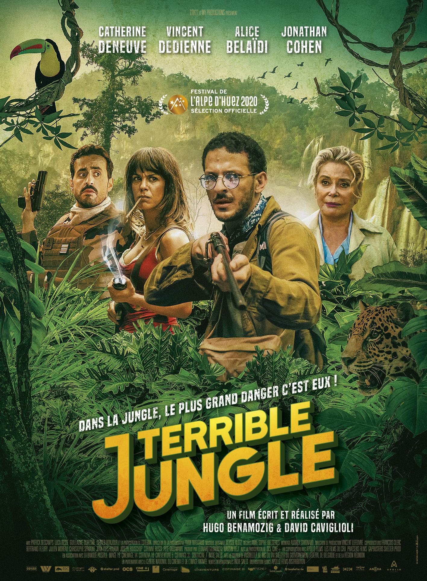 Terrible Jungle affiche film 2020