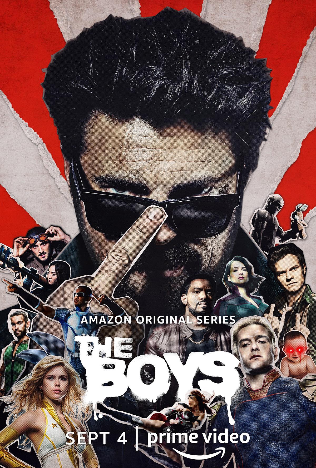 The Boys saison 2 affiche amazon prime vidéo
