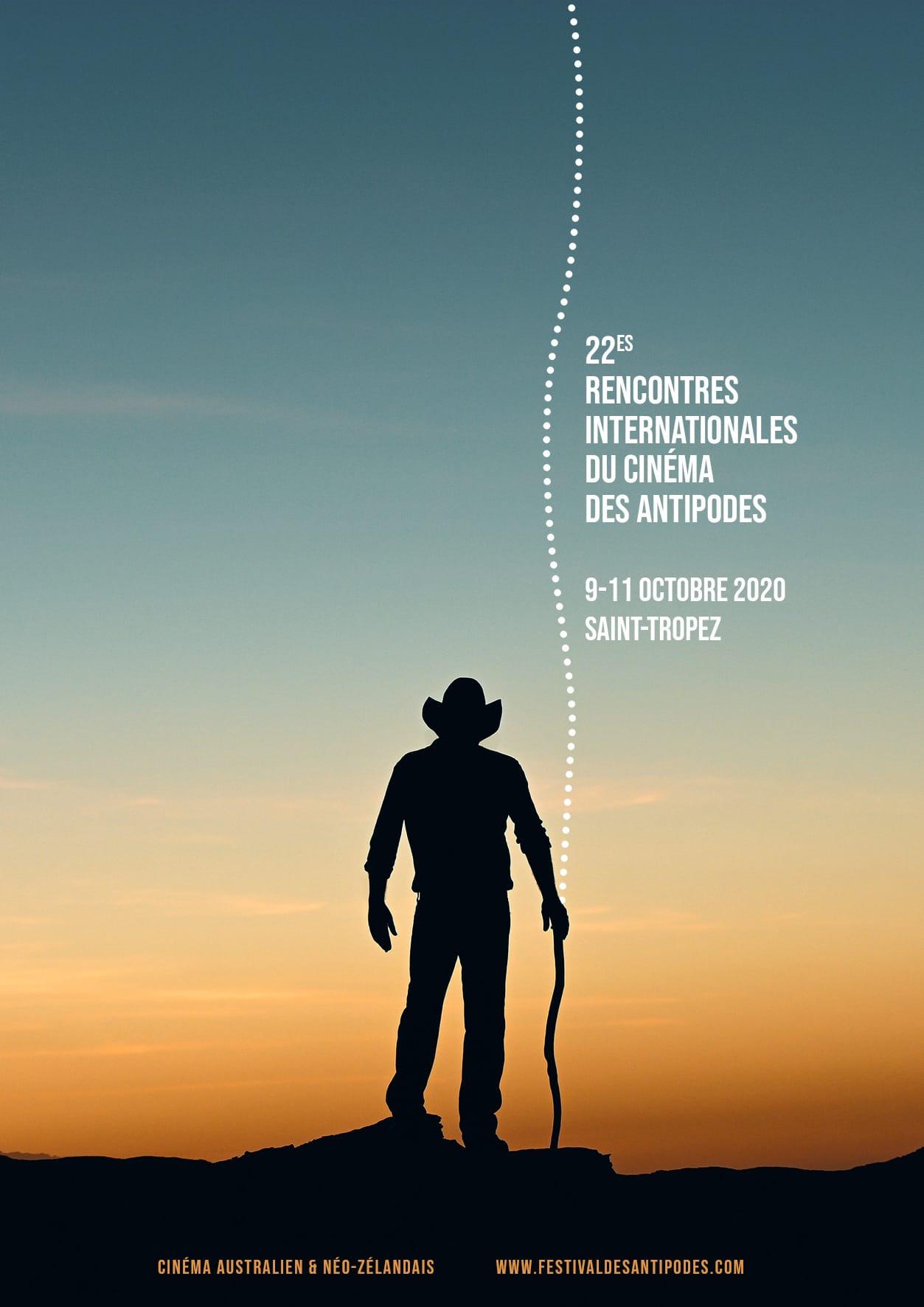 Affiche Festival des Antipodes - Saint-Tropez 2020 - cinéma