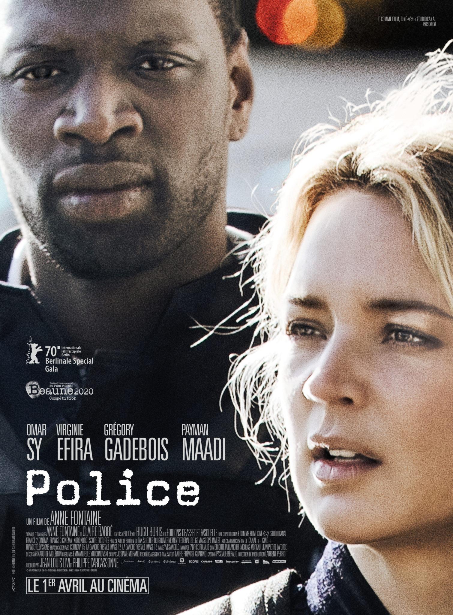"Critique / ""Police"" (2019) : Omar Sy et Virginie Efira méritaient mieux 2 image"