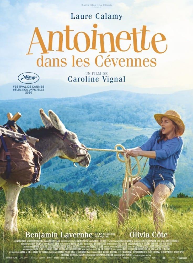 Antoinette dans les Cévennes de Caroline Vignal affiche film cinéma