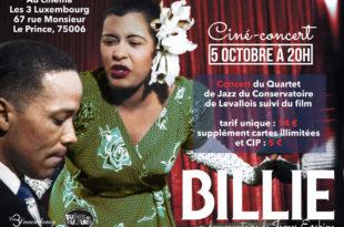 Carton concert Billie adresse