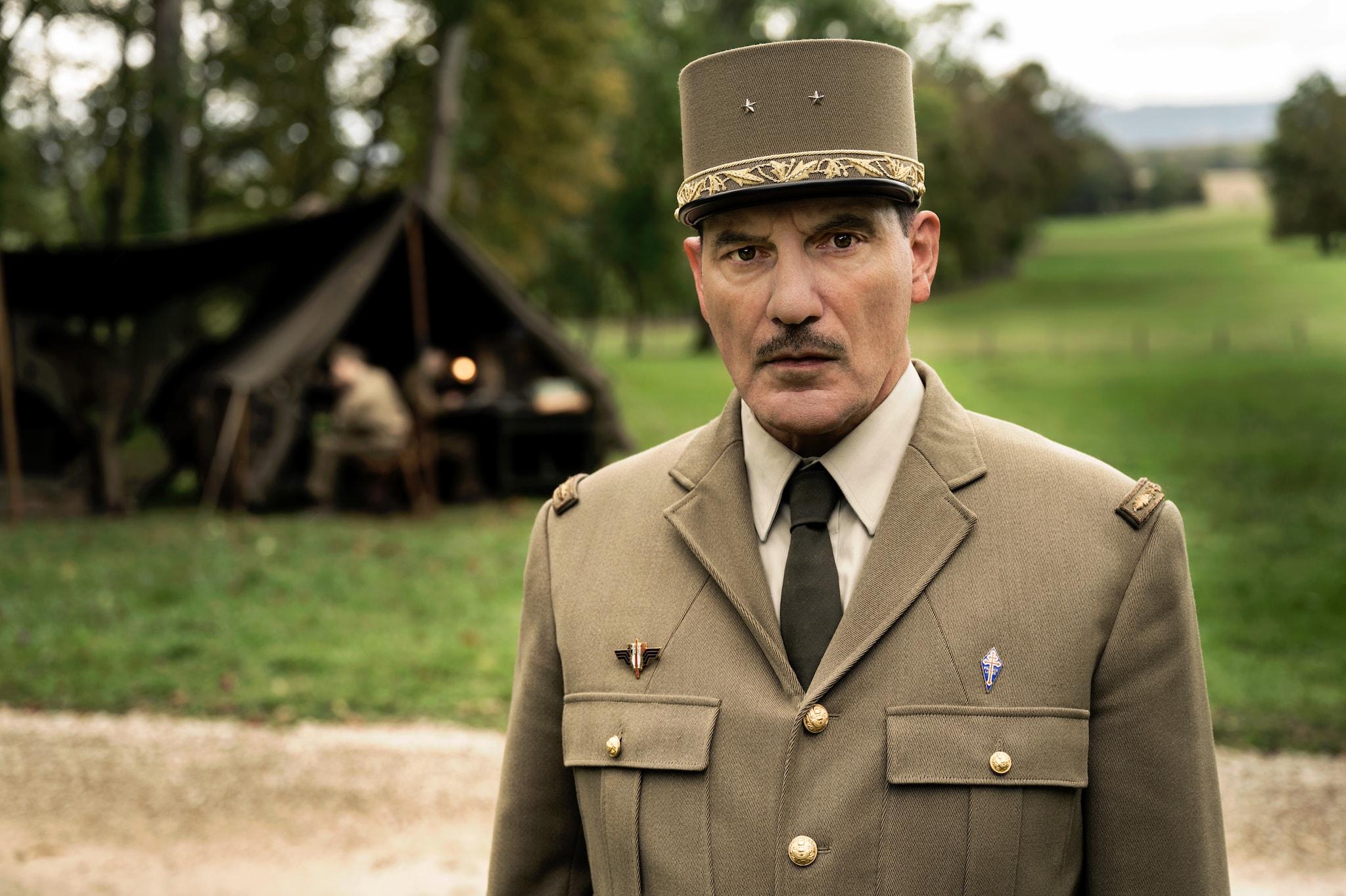 De Gaulle, l'éclat et le secret de Patrice Duhamel et Jacques Santamaria image série télé