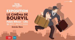 Exposition Bourvil au Festival CineComedies 2020 affiche