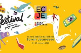 Festival Ecran Jeunesse 2020 affiche
