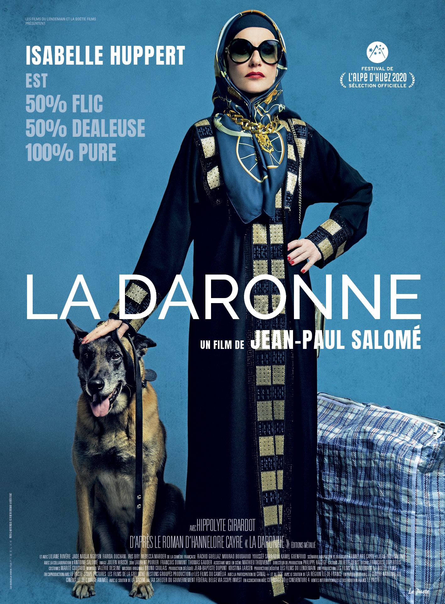 La Daronne affiche film cinéma