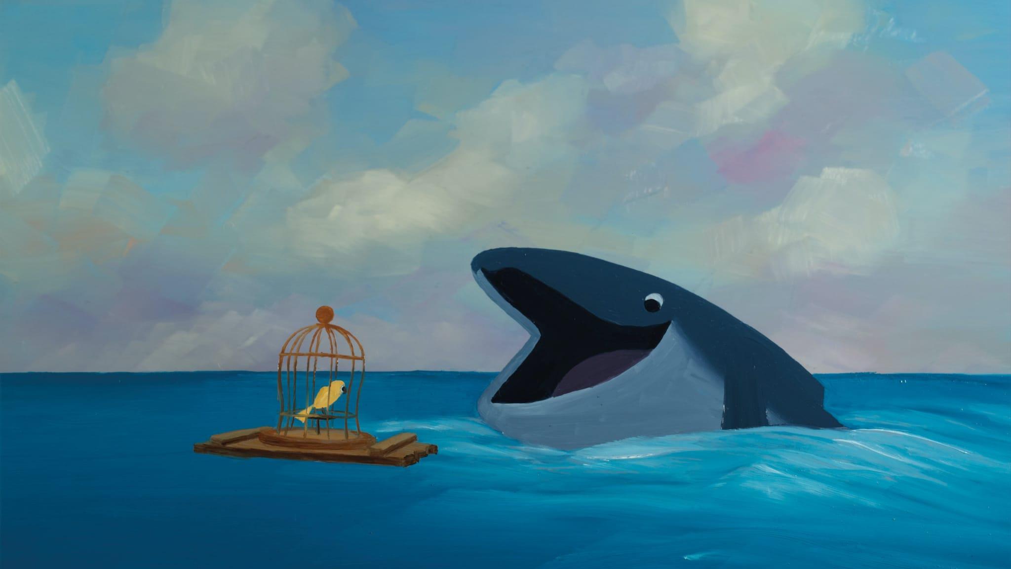 L'Oiseau et la Baleine de Carol Freeman image film animation