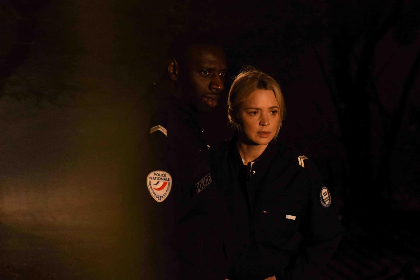 Police photo film Omar Sy Virginie Efira critique avis