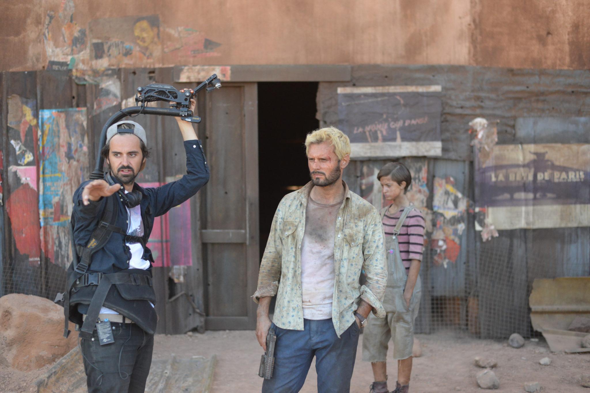 Romain Quirot Hugo Becker Le Dernier Voyage de Paul W.R photo tournage