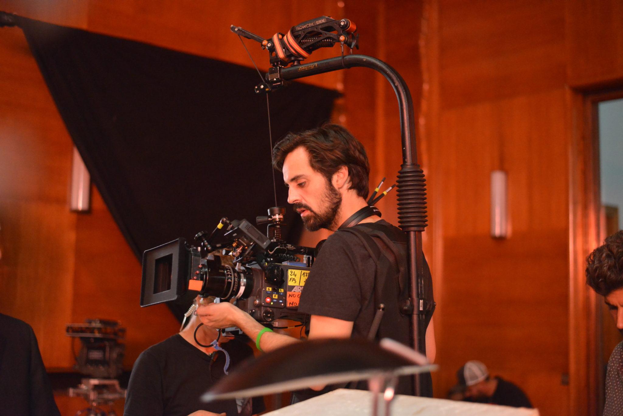 Romain Quirot tournage Le Dernier Voyage de Paul W.R photo