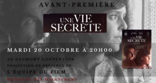 Concours / Gagnez des places pour l'avant-première « Une vie secrète » au Gaumont Convention 2 image